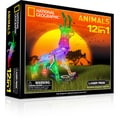 Laser Pegs National Geographic 12-in-1 Animals Lighted Construction Toy