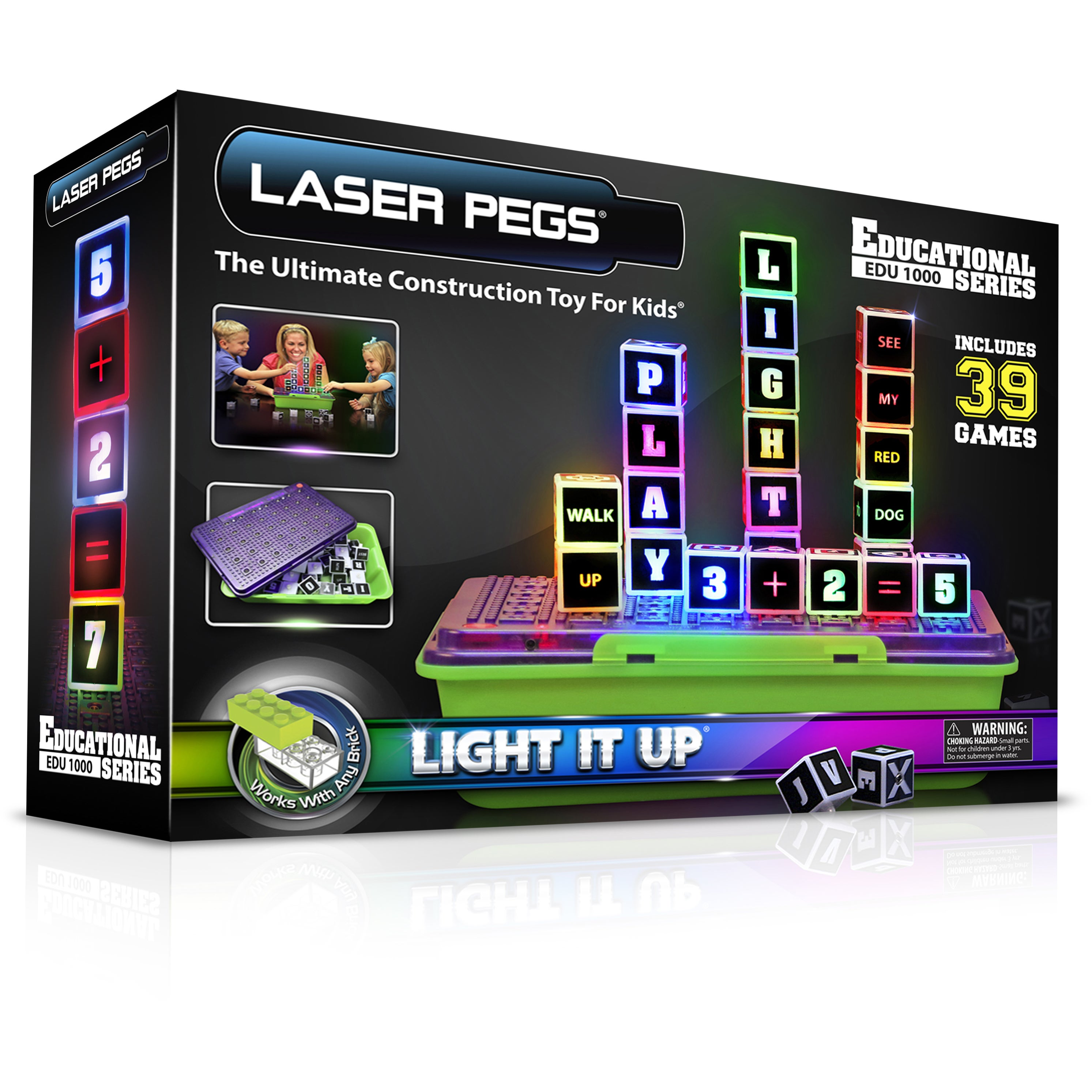 Laser Pegs Education Series Lighted Construction Toy (G85...