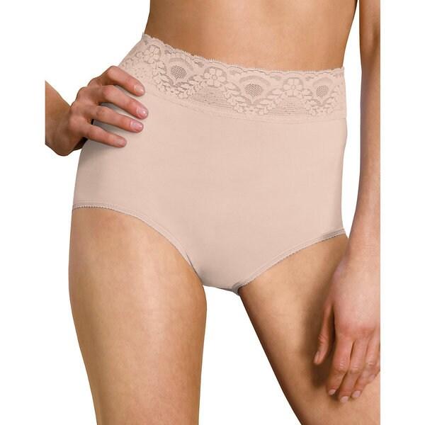 Bali Women's 'Lacy Skamp' Brief Panties