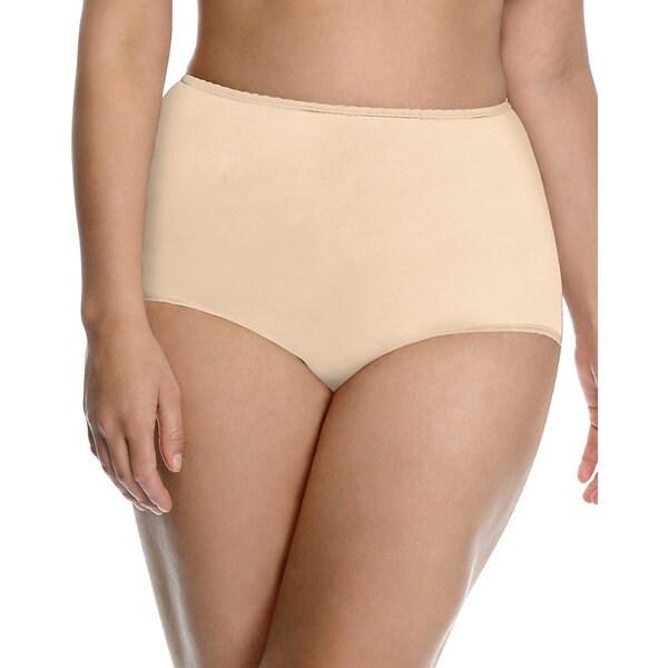 5d2fbc1a26dc Shop Bali Women's 'Skimp Skamp' High-waist Brief Panties - Free ...