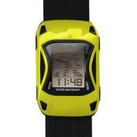 Dakota Fusion Kids' Yellow Digital Racecar Watch