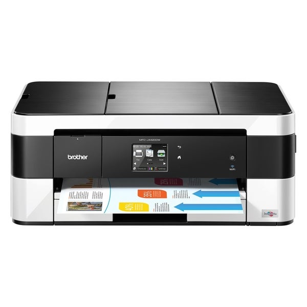 Brother Business Smart MFC-J4420DW Inkjet Multifunction Printer - Col