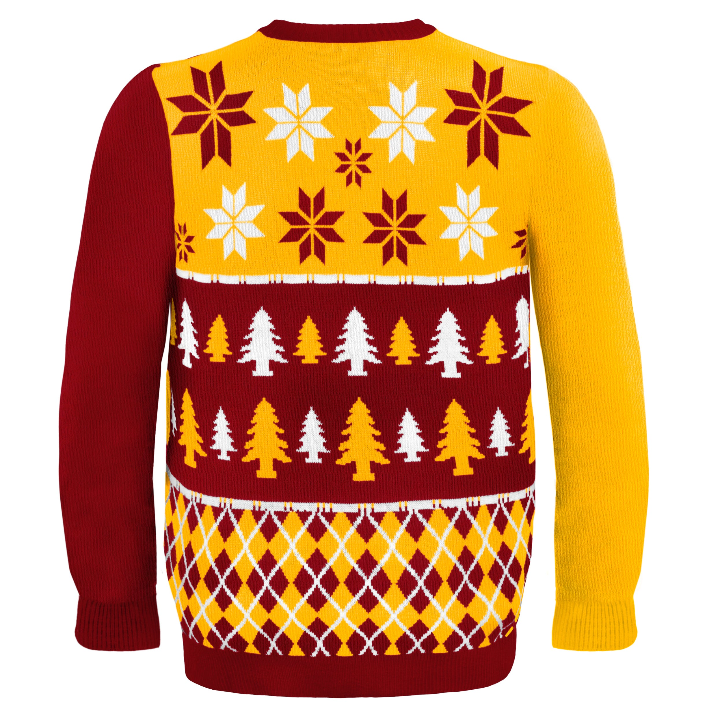 new style 42cd9 c2387 Forever Collectibles NFL Washington Redskins Busy Block Ugly Sweater