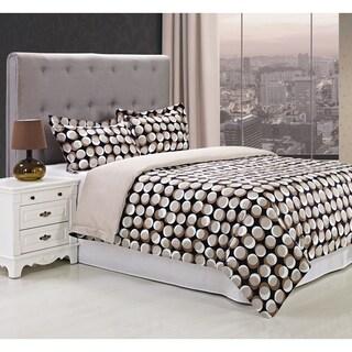 Miranda Haus Monroe 300 Thread Count 3-piece Cotton Duvet Cover Set