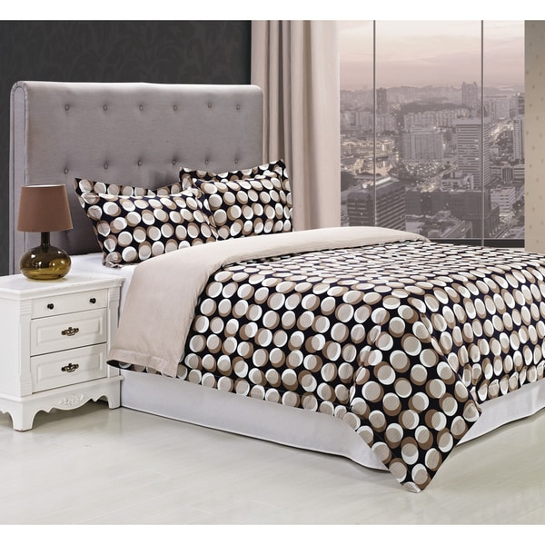 Superior Monroe 300 Thread Count 3-piece Cotton Duvet Cover Set