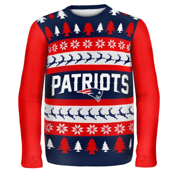 New England Patriots One Too Many Ugly Sweater