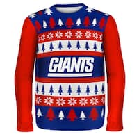 Forever Collectibles NFL New York Giants One Too Many Ugly Sweater