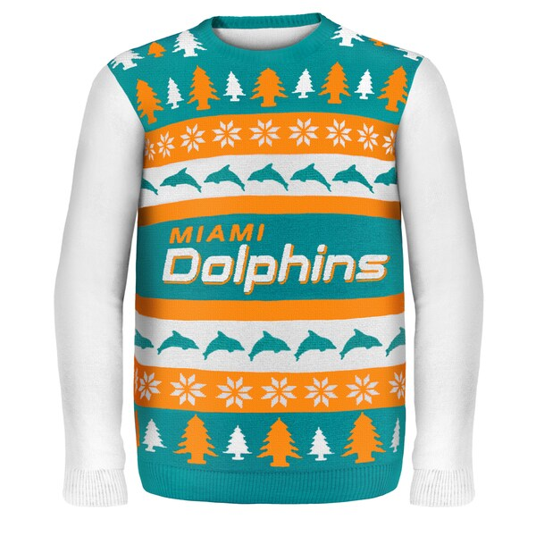 Miami Dolphins One Too Many Ugly Sweater