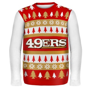 Forever Collectibles NFL San Francisco 49ers One Too Many Ugly Sweater