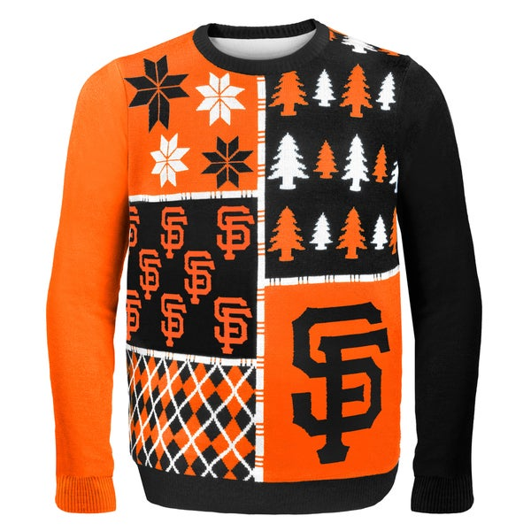 San Francisco Giants Busy Block Ugly Sweater