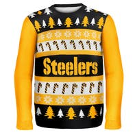 Forever Collectibles NFL Pittsburgh Steelers One Too Many Ugly Sweater