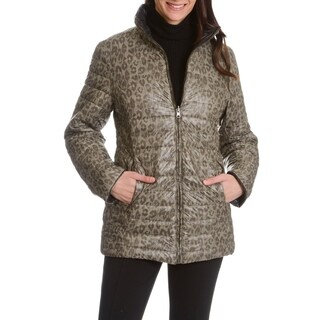 Womens Reversible Lightweight Down Coat