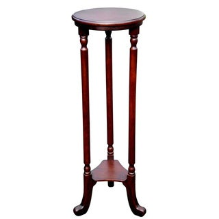 D-Art Barley Mahogany Wood Plant Stand (Indonesia)
