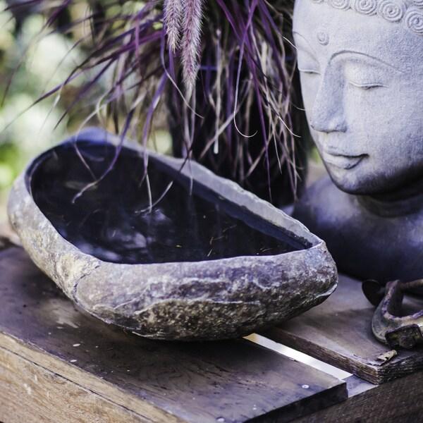 Handmade Stone Megalith Bowl (Indonesia)