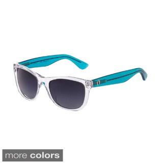 Hang Ten Gold The Wavefarer3 Smoke Lens Sunglasses
