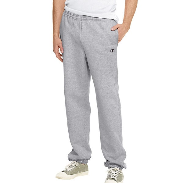 96a7e352c727 Shop Champion Men s Eco Fleece Elastic Hem Sweatpants - Free ...