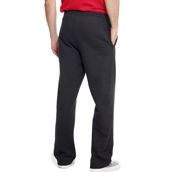 Champion Sweatpants Men Double Dry Eco Fleece Pants Pocket Open Bottom Midweight