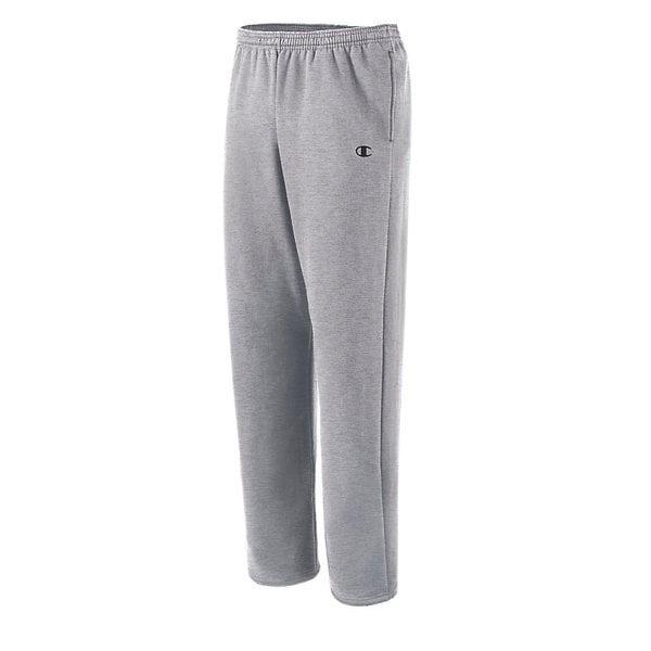 Hanes ComfortBlend Men/'s Gray Fleece Elastic Bottom Sweat Pants Size 36-38 Large