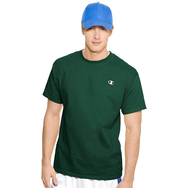 b5333a82 Shop Champion Cotton Jersey Men's T Shirt - Free Shipping On Orders ...