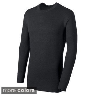 Duofold by Champion Thermals Men's Mid-weight Long Sleeve Base-layer Shirt (Option: Black)