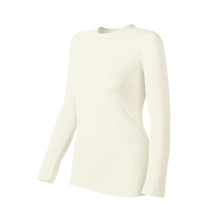 Duofold by Champion Originals Women's Mid-weight Thermal Shirt (Option: White - XL)