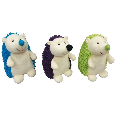 Gigglers Hedgehogs-Green, Blue or Brown Back