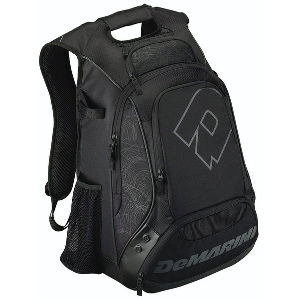 DeMarini Carrying Case (Backpack) for Helmet, Glove, Gear - Black