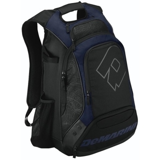 DeMarini Carrying Case (Backpack) for Helmet, Glove, Gear - Navy