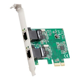 SYBA Multimedia 2-Port Ethernet PCIe x1 Card