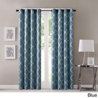 Blue, Geometric Curtains & Drapes - Shop The Best Deals For Apr 2017