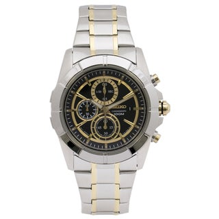 Seiko Men's SNDE70 Lord Chronograph Watch