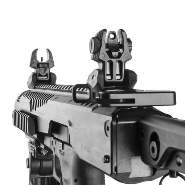 Mako Front and Rear Flip Up Gun Sights (Set)