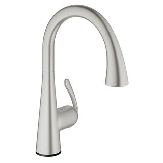 Grohe SuperSteel Ladylux 3 Cafe Touch Kitchen Faucet