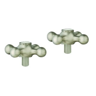 Grohe Seabury Seabury Cross Hdls Pair Brushed Nickel Infinityfinish