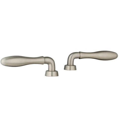 Grohe Infiniti Brushed Nickel Seabury Lever Handles (Pair)