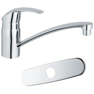 Grohe Starlight Chrome Eurosmart Swivel Spout (with esc) Kitchen Faucet