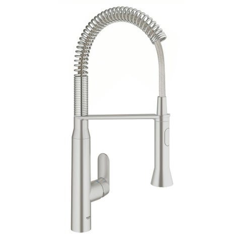 Grohe K7 Single-Handle Kitchen Faucet 31380DC0 SuperSteel Infinity