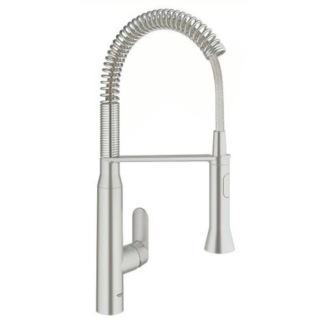 Grohe K7 Single-Handle Kitchen Faucet 31380DC0 SuperSteel Infinity