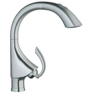 Grohe Stainless Steel K4 Main Sink Pull-out with Hand-spray Kitchen Faucet