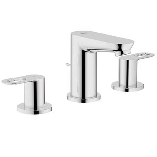 Grohe Starlight Chrome Baucosmopolitan BauLoop Wideset Bathroom Faucet