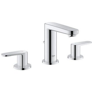Grohe Starlight Chrome Europlus 2-handle 3-hole Bathroom Faucet
