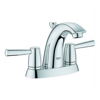 Grohe Starlight Chrome Arden 2-handle 4-inch Centerset Bathroom Faucet