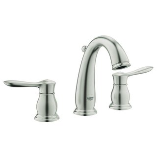 Grohe Infiniti Brushed Nickel Parkfield 2-handle 3-hole Bathroom Faucet