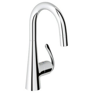 Grohe Starlight Chrome Ladylux Pro Sink Kitchen Faucet