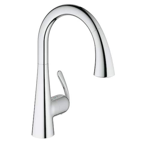 Grohe Starlight Chrome Ludylux 3 Cafe Ladylux OHM Sink Pull-out Spray Kitchen Faucet