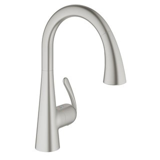 Grohe SuperSteel Ludylux 3 Cafe Ladylux OHM Sink Pull-out Spray Kitchen Faucet