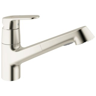 Grohe SuperSteel Europlus OHM Sink Pull-out Spray Kitchen Faucet