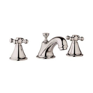 Grohe Infiniti Polished Nickel Seabury 3-hole Wash Bathroom Faucet