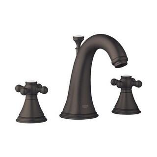 Grohe Oil Rubbed Bronze Geneva Wideset Bathroom Faucet