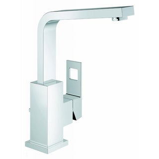 Grohe Starlight Chrome Eurocube OHM High Spout Bathroom Faucet